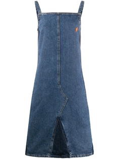 Walter Van Beirendonck Pre-Owned джинсовое платье 1990-х годов A.N.G.E.L.O. Vintage Cult