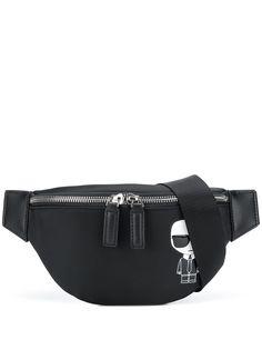 Karl Lagerfeld поясная сумка Ikonik Karl