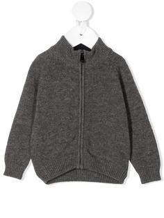 Il Gufo приталенная куртка с высоким воротником