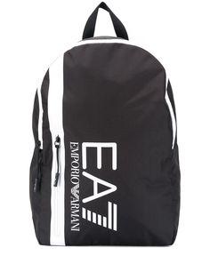 Ea7 Emporio Armani рюкзак с контрастной полоской и логотипом