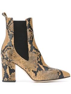 Paris Texas ботинки челси с тиснением под кожу змеи