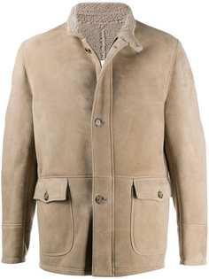 Eleventy куртка с подкладкой из овчины