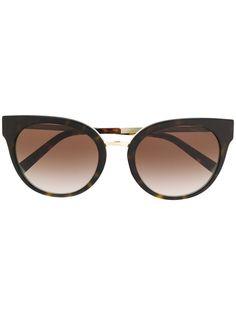 Tiffany & Co Eyewear солнцезащитные очки в оправе кошачий глаз