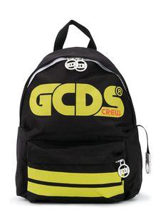 Gcds Kids рюкзак с полосками и логотипом