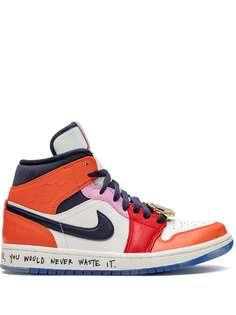 Jordan кроссовки Air Jordan 1 Mid Melody Ehsani