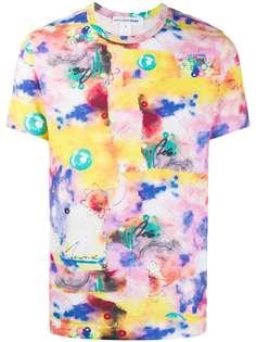 Comme Des Garçons Shirt футболка с принтом Futura 2000