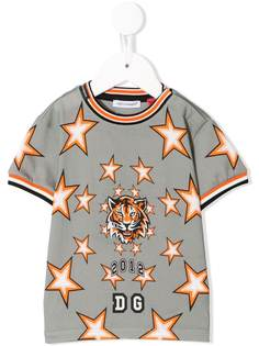 Dolce & Gabbana Kids футболка с логотипом
