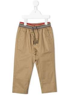 Burberry Kids брюки Dilan прямого кроя