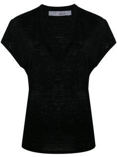 IRO футболка с V-образным вырезом