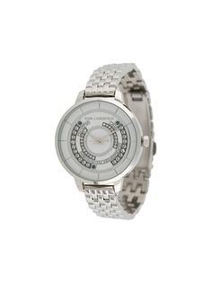 Karl Lagerfeld наручные часы Concentric с кристаллами