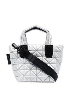 VeeCollective стеганая маленькая сумка-тоут