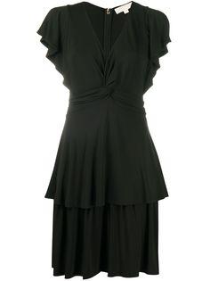 Michael Michael Kors ярусное платье мини