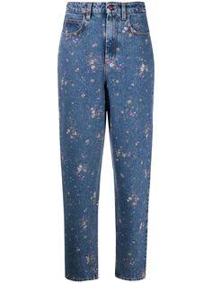 Philosophy Di Lorenzo Serafini джинсы Mom с цветочным принтом