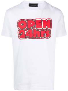 Dsquared2 футболка Open 24hrs