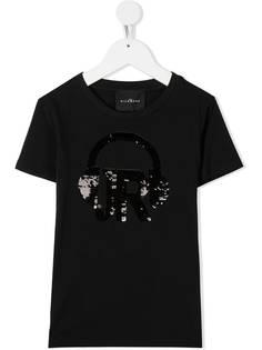 John Richmond Junior футболка с пайетками