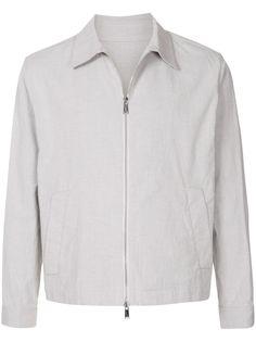 Kent & Curwen укороченная куртка на молнии