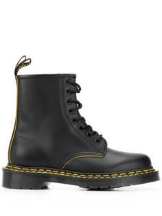 Dr. Martens ботинки в стиле милитари на шнуровке