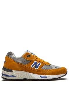 New Balance кроссовки M991YBG Yellow/Blue