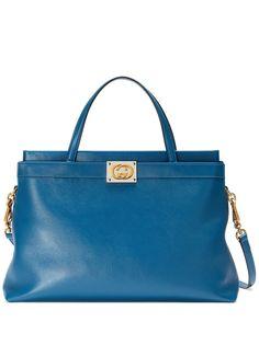 Gucci сумка среднего размера с логотипом Interlocking G