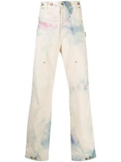 Palm Angels джинсы с принтом тай-дай