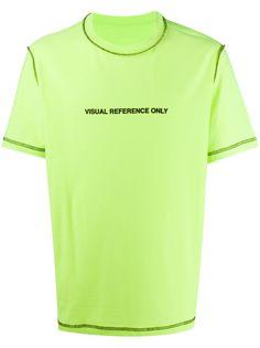 Diesel двусторонняя футболка с контрастной строчкой