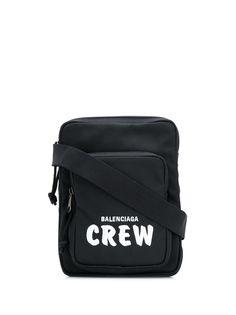 Balenciaga сумка-мессенджер Explorer с надписью Crew