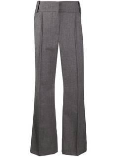 Fendi укороченные брюки строгого кроя