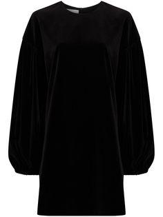 Valentino бархатное платье мини