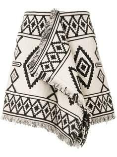 Isabel Marant Étoile юбка мини Jiloa с графичным узором