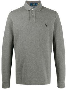 Polo Ralph Lauren рубашка поло с длинными рукавами и логотипом