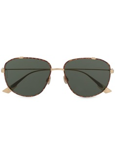 Dior Eyewear солнцезащитные очки-авиаторы черепаховой расцветки