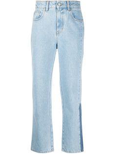 MCQ прямые джинсы с завышенной талией