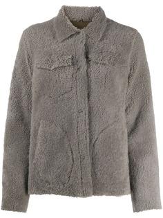 Giorgio Brato приталенная шуба из овчины