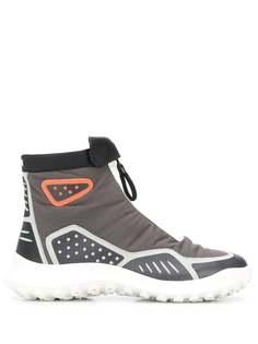 Camper ботинки на молнии со вставками