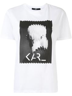 Karl Lagerfeld футболка с принтом Karl Legend
