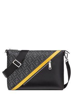 Fendi сумка-мессенджер с логотипом