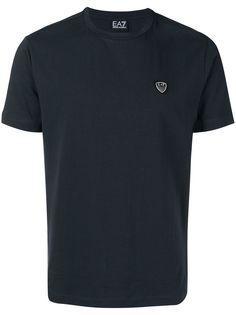 Ea7 Emporio Armani футболка с аппликацией логотипа