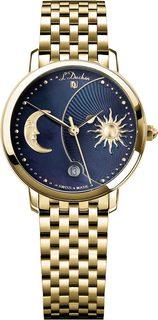 Швейцарские женские часы в коллекции Quartz Женские часы L Duchen D781.20.37