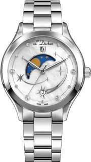 Швейцарские женские часы в коллекции Multifunction Женские часы L Duchen D837.10.43