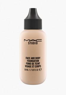 Тональное средство MAC для лица и тела Face And Body Foundation, C4, 50 мл