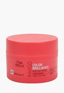 Маска для волос Wella Professionals INVIGO COLOR BRILLIANCE для защиты цвета WELLA PROFESSIONALS для нормальных и тонких волос, 150 мл