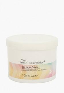 Маска для волос Wella Professionals COLOR MOTION+ для окрашенных волос, восстанавливающая, 500 мл