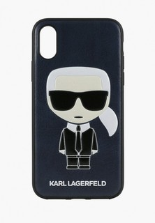 Чехол для iPhone Karl Lagerfeld PU Leather Iconic Karl Hard
