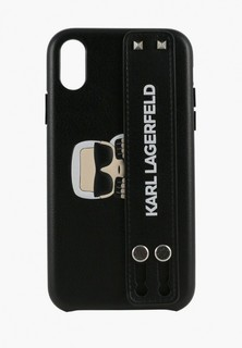 Чехол для iPhone Karl Lagerfeld Karl head Hard with hand strap
