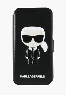 Чехол для iPhone Karl Lagerfeld 11 Pro PU Leather Iconik Karl Booktype stand Black