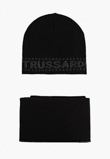 Комплект Trussardi Jeans шапка и шарф