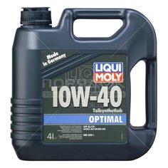 Масло моторное полусинтетическое 10W40 Liqui Moly Optimal 3930, 4 л