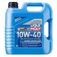 Масло моторное полусинтетическое 10W40 Liqui Moly Super Leichtlauf+HD 1916, 4 л