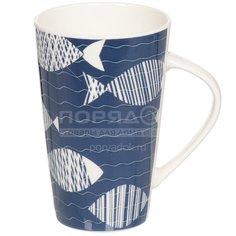 Кружка керамическая Daniks Морской стиль, 400 мл