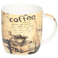 Кружка керамическая Daniks Кофе, 390 мл